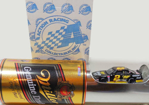 2002 Rusty Wallace NASCAR Diecast 2 Genuine Draft 1991 CWC 1:64 Action ARC Veer Can 1