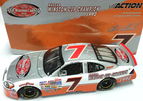 2003 Alan Kulwicki NASCAR Diecast 7 Winston Cup Victory Lap CWC 1:24 Action ARC 1
