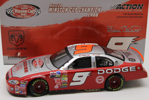 2003 Bill Elliott NASCAR Diecast 9 Victory Lap CWC 1:24 Action ARC 1