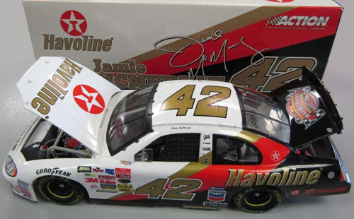 2003 Jamie McMurray NASCAR Diecast 42 Havoline Davey Allison Memorial CWC 1:24 Action ARC 1b