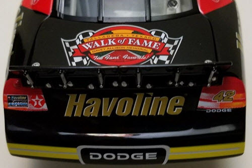 2003 Jamie McMurray NASCAR Diecast 42 Havoline Davey Allison Memorial CWC 1:24 Action ARC 6
