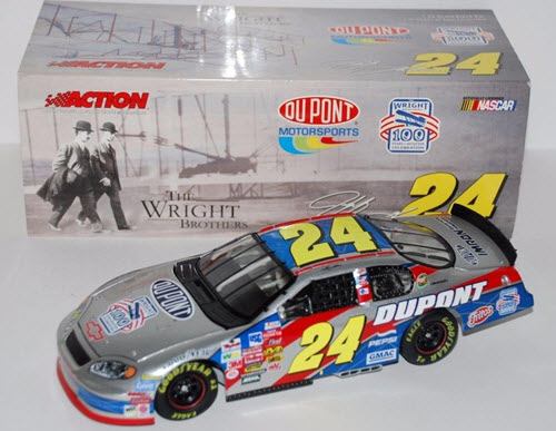 2003 Jeff Gordon NASCAR Diecast 24 Wright Brothers CWC 1:24 Action ARC 1