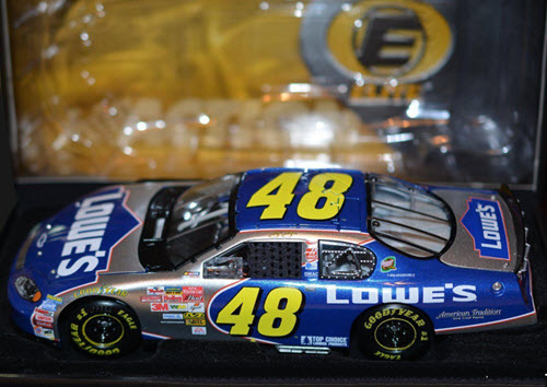 2003 Jimmie Johnson NASCAR Diecast 48 Lowes CWC 1:24 Action RCCA Elite 2