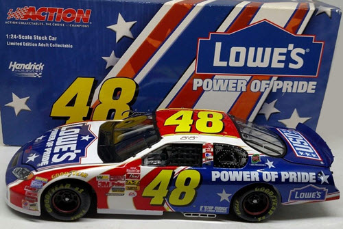 2003 Jimmie Johnson NASCAR Diecast 48 Power of Pride CWC 1:24 Action ARC 1