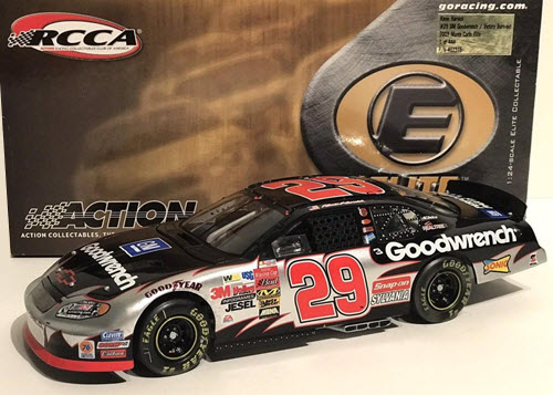 2003 Kevin Harvick NASCAR Diecast GMGW GM Goodwrench Brickyard Indy Victory Burn out Burnout CWC 1:24 Action RCCA Elite 1