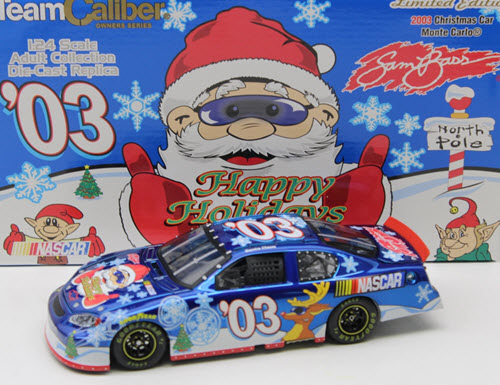 2003 NASCAR Diecast 03 Holiday Sam Bass CWC 1:24 Team Caliber Owners 1
