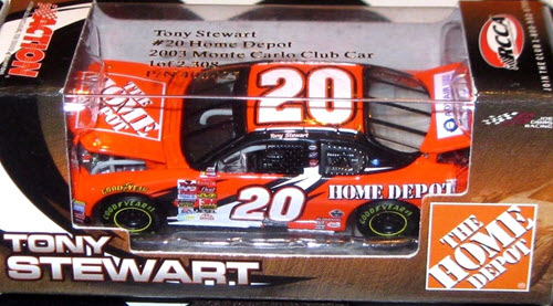 2003 Tony Stewart NASCAR Diecast 20 Home Depot CWC 1:64 Action RCCA 1