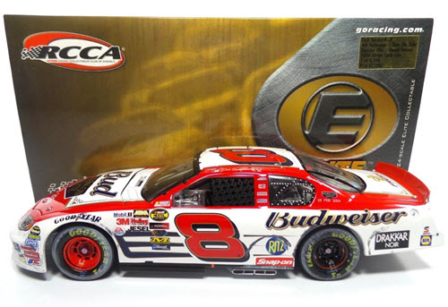2004 Dale Earnhardt Jr NASCAR Diecast 8 Bud Budweiser BOD Born On Date Feb 15 Daytona 500 Win Raced Version CWC 1:24 Action RCCA Elite 1