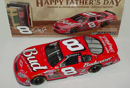 2004 Dale Earnhardt Jr NASCAR Diecast 8 Bud Budweiser Fathers Day CWC 1:24 Action ARC 1