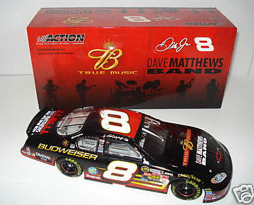2004 Dale Earnhardt Jr NASCAR Diecast 8 Dave Matthews Band CWB 1:24 Action ARC Bank 2