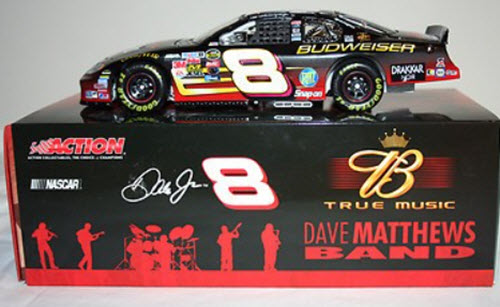 2004 Dale Earnhardt Jr NASCAR Diecast 8 Dave Matthews Band CWB 1:24 Action ARC Bank 3