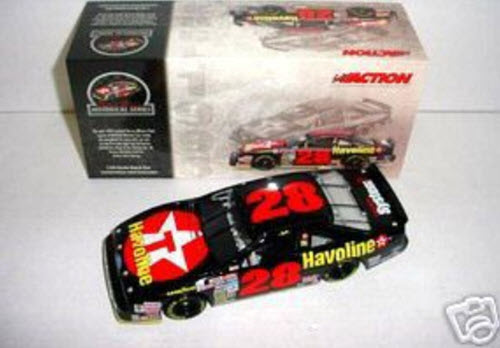 2004 Davery Allison NASCAR Diecast 28 Havoline Black 1993 CWB Bank 1:24 Action ARC Historical 1