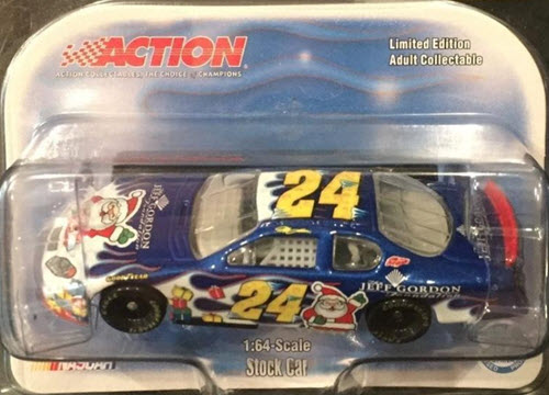2004 Jeff Gordon NASCAR Diecast 24 Foundation Holiday CWC 1:64 Lionel Action ARC 1