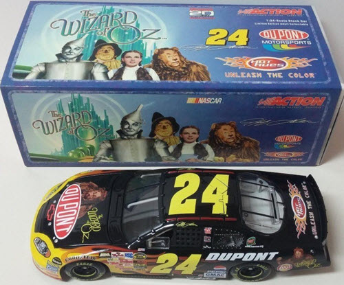 2004 Jeff Gordon NASCAR Diecast 24 Wizard of Oz CWB Bank 1:24 Action ARC 1