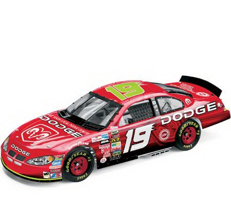 2004 Jeremy Mayfield NASCAR Diecast 19 Dodge Dealers CWC 1:24 Action RCCA Elite 99