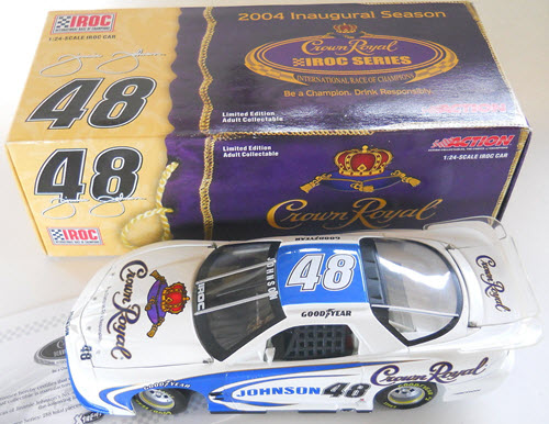 2004 Jimmie Johnson NASCAR Diecast 48 Crown Royal IROC FIrebird CWC 1:24 Action ARC 1