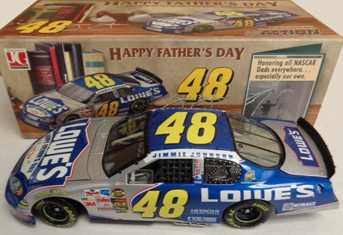 2004 Jimmie Johnson NASCAR Diecast 48 Fathers Day CWC 1:24 Action ARC 1