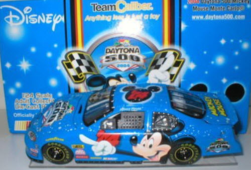 2004 NASCAR Diecast 04 Daytona 500 Mickey Mouse CWC 1:24 Team Caliber Owners 1