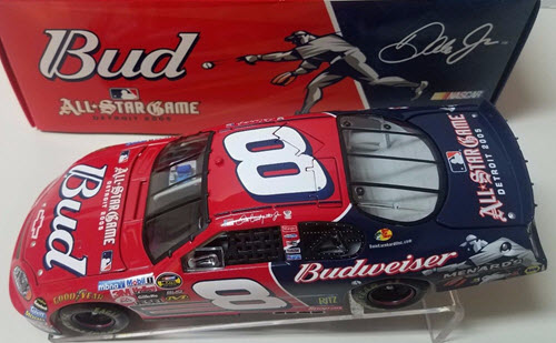 2005 Dale Earnhardt Jr Diecast 8 Bud Budweiser MLB Detroit All Star Game CWC 1:24 Action ARC 1