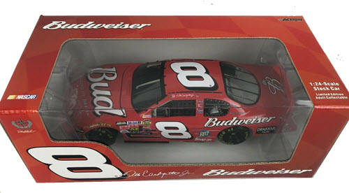 2005 Dale Earnhardt Jr NASCAR Diecast 8 Bud Budweiser CWC 1:24 Action ARC Window Box 1