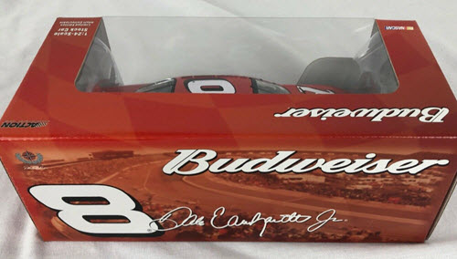 2005 Dale Earnhardt Jr NASCAR Diecast 8 Bud Budweiser CWC 1:24 Action ARC Window Box 2