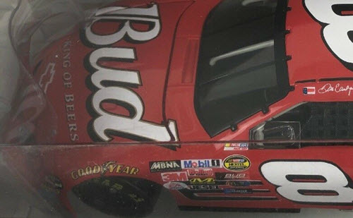2005 Dale Earnhardt Jr NASCAR Diecast 8 Bud Budweiser CWC 1:24 Action ARC Window Box 4