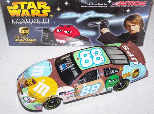 2005 Dale Jarrett NASCAR Diecast 88 Star Wars CWC 1:24 Action ARC QVC Release 1