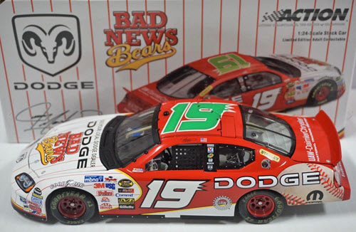 2005 Jeremy Mayfield NASCAR Diecast 19 Bad News Bears CWC 1:24 Action ARC 1