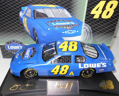 2005 Jimmie Johnson NASCAR Diecast 48a Lowes Test Car CWC 1:24 Revell Collection 1