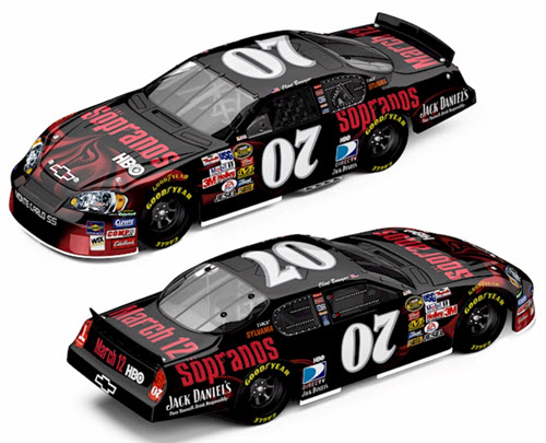 2006 Clint Bowyer NASCAR Diecast 07 Sopranos CWC 1:64 Action ARC 98