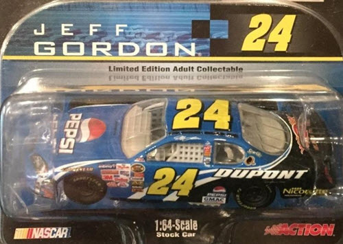 2006 Jeff Gordon NASCAR Diecast 24 Pepsi CWC 1:64 Action ARC 1