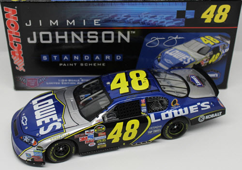 2006 Jimmie Johnson NASCAR Diecast 48 Lowes CWC 1:24 Action ARC 1
