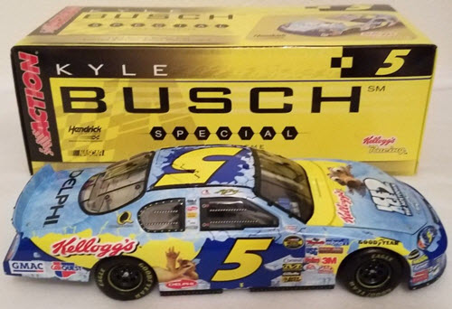 2006 Kyle Busch NASCAR Diecast 5 Ice Age CWB Bank 1:24 Action ARC 2