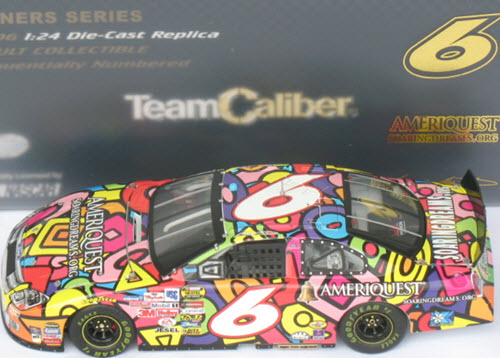 2006 Mark Martin NASCAR Diecast 6 Ameriquest Soaring Dreams CWC 1:24 Team Caliber Owners 1