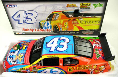 2007 Bobby Labonte NASCAR Diecast 43 Cheerios General Mills Characters COT CWC 1:24 Action ARC 1