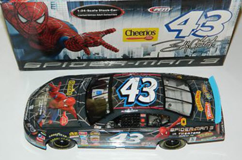 2007 Bobby Labonte NASCAR Diecast 43 Spiderman CWC 1:24 Action ARC 1