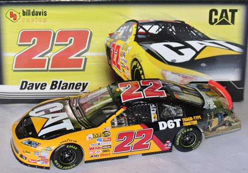 2007 Dave Blaney NASCAR Diecast 22 CAT Caterpillar D6T CWC 1:24 Action ARC 1