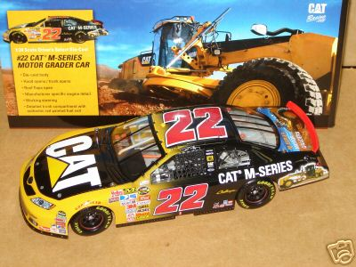 2007 Dave Blaney NASCAR Diecast 22 CAT Caterpillar M Series CWC 1:24 Action ARC 1