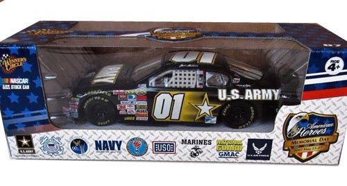2007 Mark Martin NASCAR Diecast 01 Army American Heroes CWC 1:24 Winners Circle 1