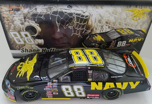 2007 Shane Huffman NASCAR Diecast 88 Navy Seals CWC 1:24 Action ARC 1