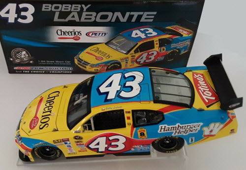 2008 Bobby Labonte NASCAR Diecast 43 Cheerios CWC 1:24 Action ARC 1