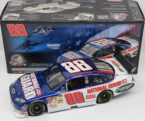 2008 Dale Earnhardt Jr NASCAR Diecast 88 National Guard CWC 1:24 Action ARC 1