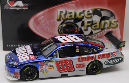 2008 Dale Earnhardt Jr NASCAR Diecast 88 National Guard CWC 1:24 QVC RFO Race Fans Only Color Mesma Chrome 1