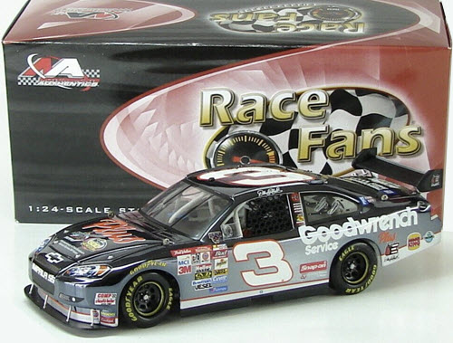 2008 Dale Earnhardt Sr NASCAR Diecast 3 Plus 1998 Daytona Winner 10th Anniversary CWC 1:24 Action QVC RFO Color Chrome 1