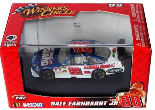 2009 Dale Earnhardt Jr NASCAR Diecast 88 National Guard CWC 1:87 Winners Circle Red Box 1