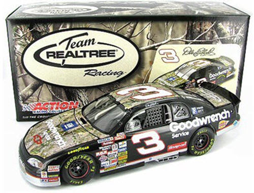 2009 Dale Earnhardt Sr NASCAR Diecast 3 GMGW Realtree Camo  CWC 1:24 Motorsports Authentics Action ARC 1