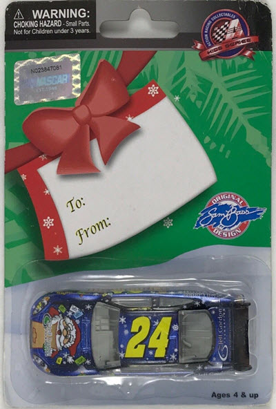 2009 Jeff Gordon NASCAR Diecast 24 Foundation Holiday CWC 1:64 Action ARC Liquid Color 1