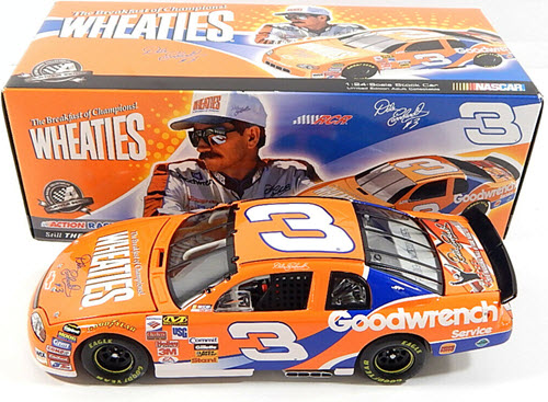 2010 Dale Earnhardt Sr NASCAR Diecast 3 Wheaties Fantasy HoF Hall Fame CWC 1:24 Action ARC 1