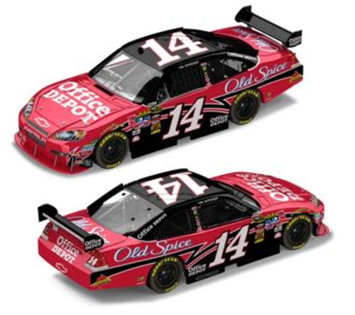 2010 Tony Stewart NASCAR Diecast 14 Office Depot CWC 1:24 Action ARC 99