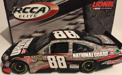 2011 Dale Earnhardt Jr NASCAR Diecast 88 National Guard Heritage Camo CWC 1:24 Lionel Action RCCA Elite 1